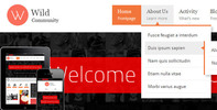 Thumbnail WildCommunity - BuddyPress Theme